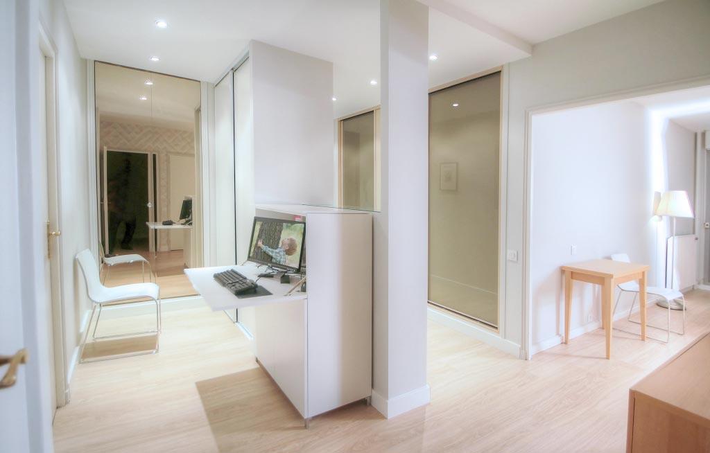 Rénovation hall entrée d\'appartement, L\'Atelier Pigmenté.