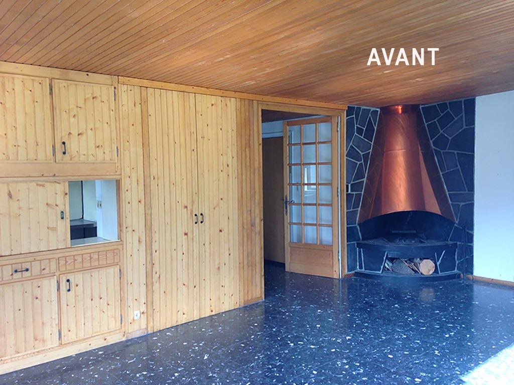 Rénovation appartement chalet montagne, L\'Atelier Pigmenté.
