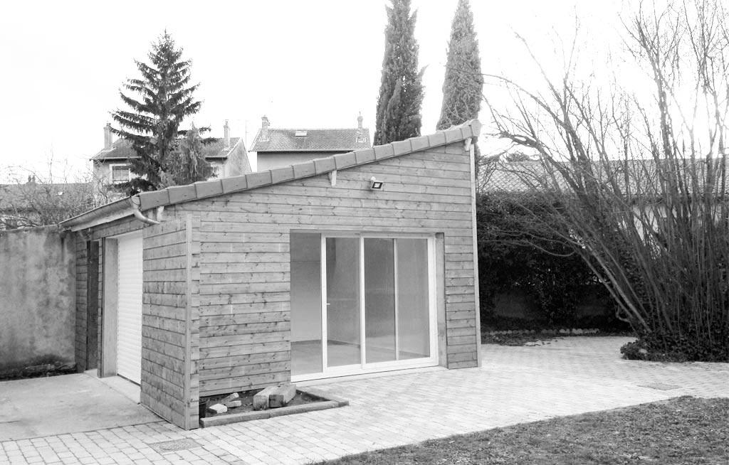 R novation d 39 un garage l 39 atelier pigment for Garage a villeurbanne